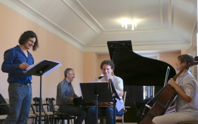 Folksongs by Beethoven.  Madrid and Jaen's College 17 and 18, February,2016