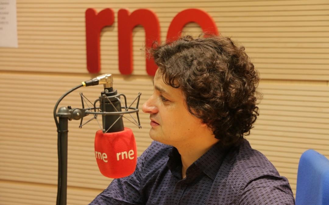 Alfredo García on  Radio Clásica (RNE)