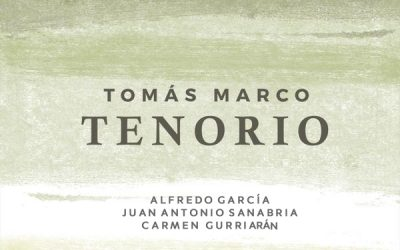 "CD release of Tomás Marco's opera ""Tenorio"". October 3, 2018"
