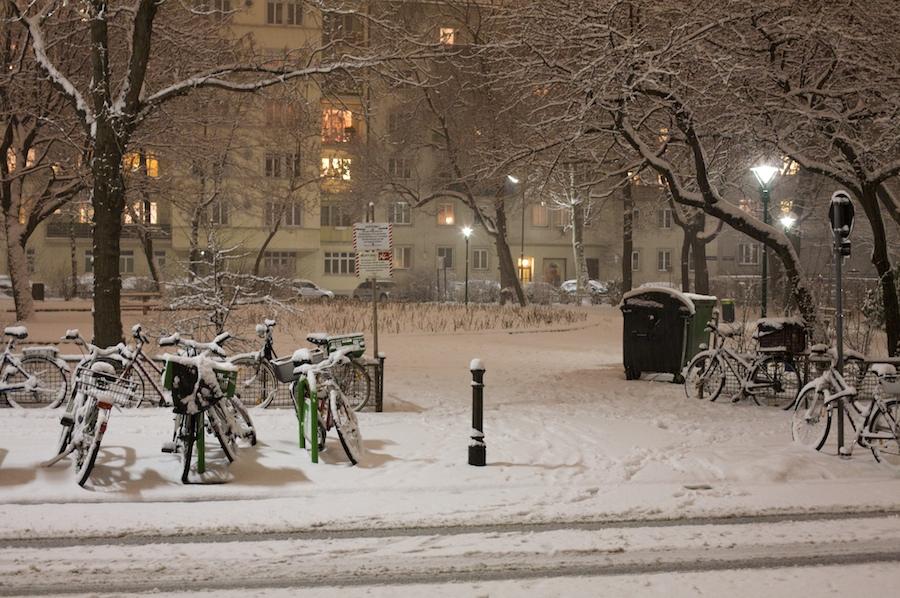 Mahler en la nieve
