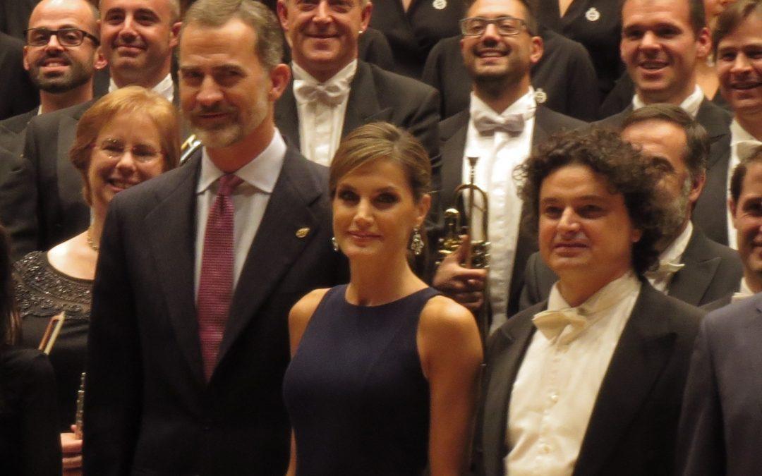 Alfredo García en el concierto de los Premios Princesa de Asturias 2017