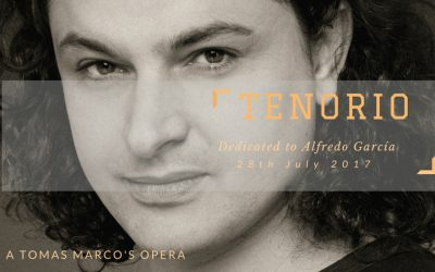 Ópera «Tenorio» de Tomás Marco. Teatro de la Maestranza. Sevilla 31 de octubre de 2018