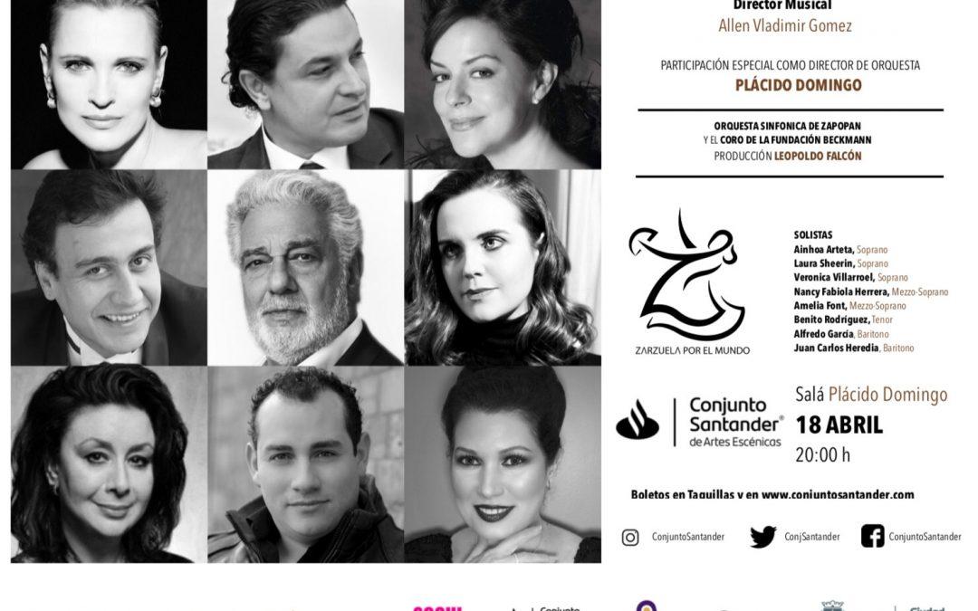Alfredo García en el I Encuentro Internacional de Zarzuela