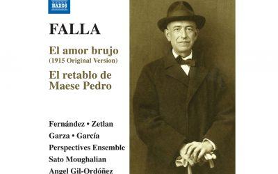 Presentación del CD Falla «El Retablo de Maese Pedro». 16 mayo 2019