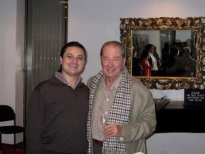 Con el maestro Rafael Frühbeck de Burgos en Nueva York