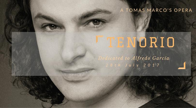 """""""Tenorio"""" Opera by Tomás Marco. Teatro de la Maestranza. Sevilla, October 31, 2018"""