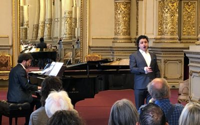 The baritone Alfredo García debuts at the Teatro Colón in Buenos Aires