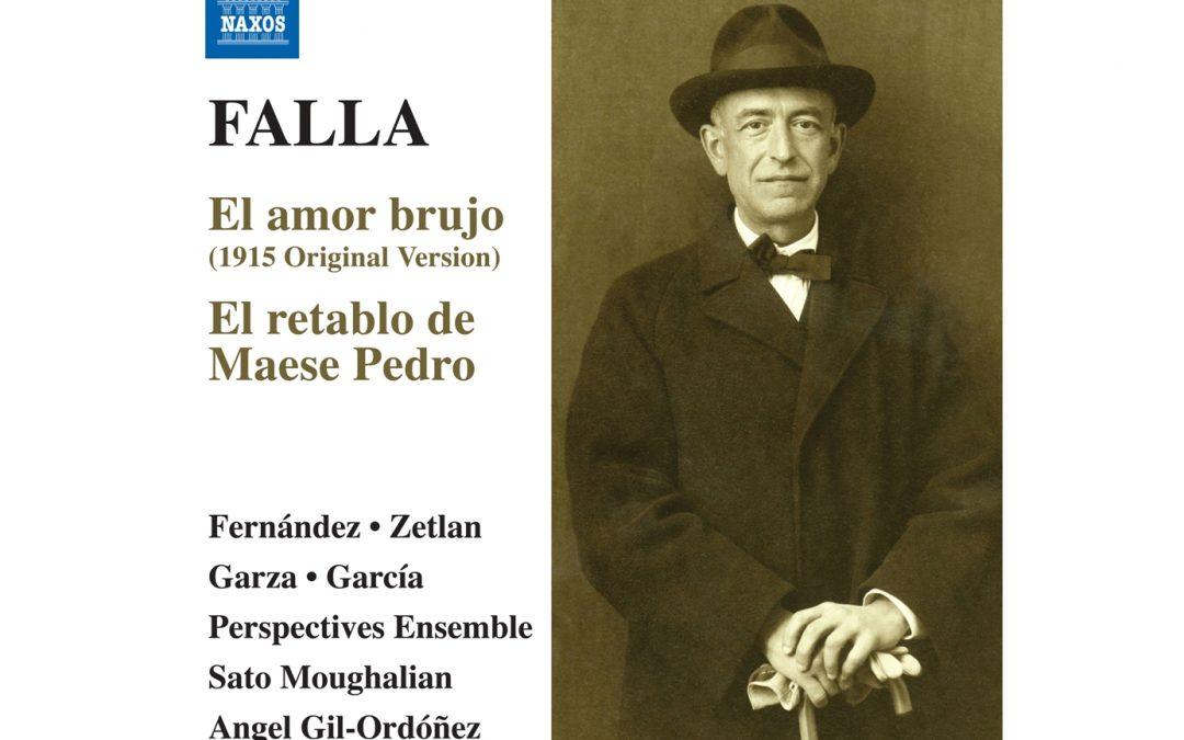 """Presentación del CD Falla """"El Retablo de Maese Pedro"""". 16 mayo 2019"""
